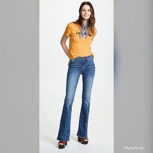 Frame Denim Le High Flare Medium Washed Jeans 28